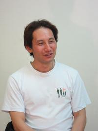 安食宏美さんと同じく東三河からの参加の太田直宏さん。カラクリの大道具製作でもその手腕を発揮する頼もしい存在。